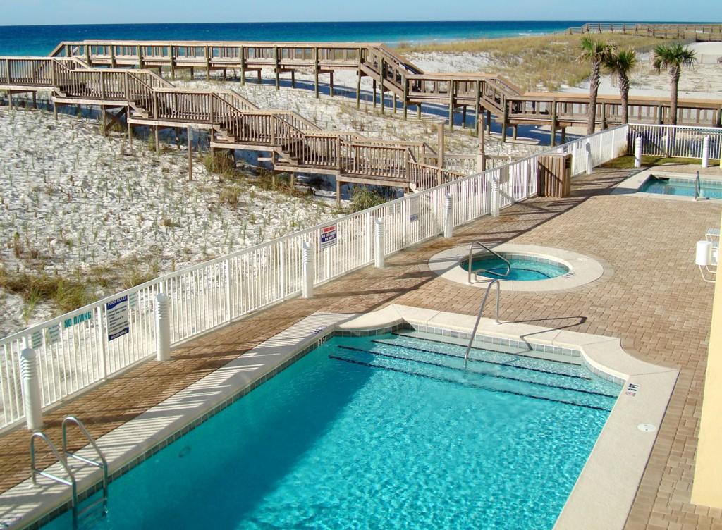 Caribbean Resort Navarre Beach FL Pool Area