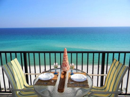 Sundunes navarre private oceanfront balcony